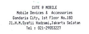 cute @ mobile